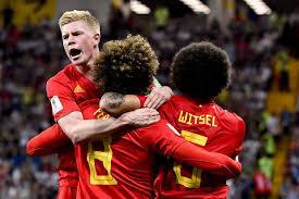 De Bruyne Fellaini Witsel Belgique football