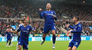 Hazard Cahill Azpilicueta Chelsea